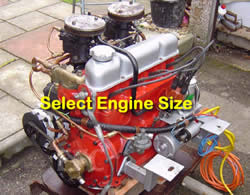 Picture of Volvo Penta engine from which to select your engine size