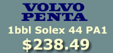 Volvo Penta 1bbl Solex 44PA1 from flyingfishcarburetors.com